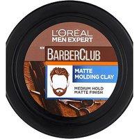 L Oreal Men Expert Barber Club Messy Hair Styling Matt Clay 75ml