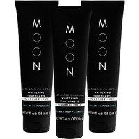 Moon Charcoal Whitening Toothpaste Bundle