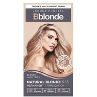 Jerome Russell Bblonde permanent hair colour natural blonde 9.13 kit