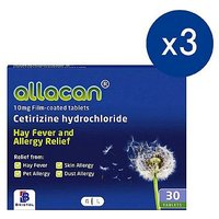 Allacan 10mg Film-coated Tablets - 30 Tablets (3 Packs)