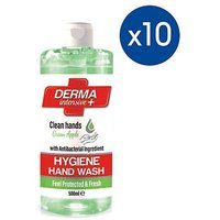 10 Pack of Mellor & Russell Derma Intensive + Hygiene Hand Wash - Apple 500ml