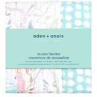 aden + anais essentials cotton muslin blanket tropicalia
