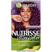 GARNIER NUTRISSE Ultra Color GB 5.21 Intense Lilac Permanent Hair Dye