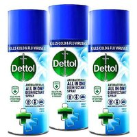 Dettol All in One Antibacterial Disinfectant Spray Crisp Linen 3 x 400ml Bundle