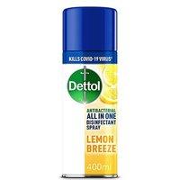 Dettol Disinfectant Spray Lemon Breeze 400ml