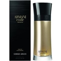 Armani Code Absolu Eau De Parfum Aftershave 200ml