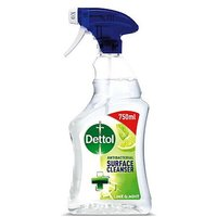 Dettol Antibacterial Disinfectant Surface Cleaning Spray Lime and Mint 750ml