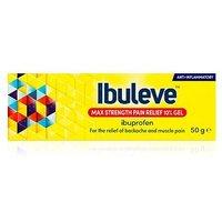Ibuleve Max Strength Pain Relief 10% Gel 50g