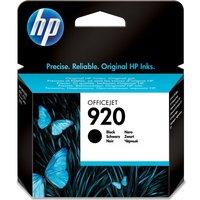 HP 920 Black Ink Cartridge, Black