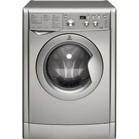 Indesit Washer Dryer Iwdd7143s - Silver, Silver