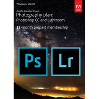 ADOBE Creative Cloud Photography Plan, Red.