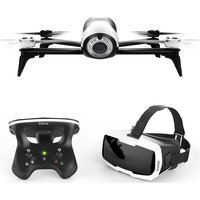 PARROT Bebop 2 FPV Drone with SkyController 2 - White & Black, White