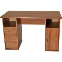 ALPHASON Maryland Desk - Walnut