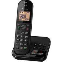 'Panasonic Kx-tgc420eb Cordless Phone With Answering Machine