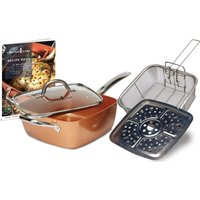 High Street Tv Chef 5-piece Cookware Set - Copper