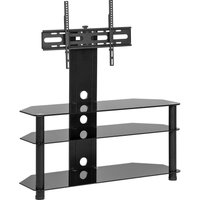 Mmt Cb60 800 Mm Tv Stand With Bracket - Black, Black