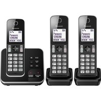 Click to view product details and reviews for Panasonic Kx Tgd623eb Cordless Phone Triple Handsets.