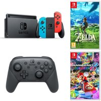 2720a5a4bad2 Save 6% - NINTENDO Switch Neon Red Pro Controller Mario 8