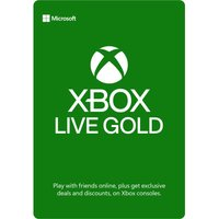 MICROSOFT Xbox Live Gold Membership 12 Month Subscription, Gold.