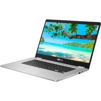 "Asus C523 15.6"" Intel Celeron Chromebook - 64 GB eMMC, Silver, Silver"