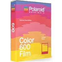 POLAROID Summer Haze Edition i-Type Colour Film - Pack of 8, Red.