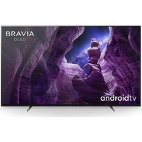 65 SONY BRAVIA KD65A85BU Smart 4K Ultra HD HDR OLED TV with Google Assistant.