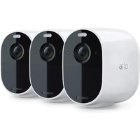 ARLO Essential Spotlight VMC2330-100EUS Full HD WiFi Security Camera - White, Pack of 3, White.