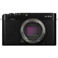 SONY X-E4 Mirrorless Camera - Black, Body Only, Black