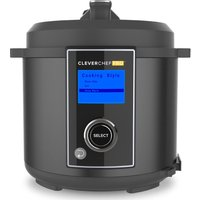 DREW & COLE Clever Chef Pro Multicooker - Charcoal, Charcoal