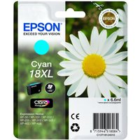 Epson Daisy T1812 Xl Cyan Ink Cartridge, Cyan at Currys Electrical Store