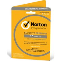 NORTON Security 2018 - 1 year for 10 devices (download)