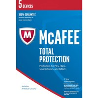 MCAFEE Total Protection 2016 - 5 users for 1 year