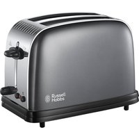 Buy RUSSELL HOBBS Colours Plus 23332 2-Slice Toaster - Grey, Grey - Currys