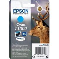 EPSON Stag T1302 Cyan Ink Cartridge, Cyan