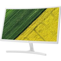 "ACER ED242QRwi Full HD 24"" Curved LCD Monitor - White, White"