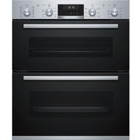 BOSCH NBA5570S0B Electric Built-under Double Oven - Stainless Steel, Stainless Steel