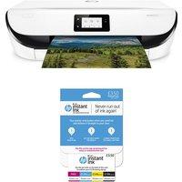 HP ENVY 5032 All-in-One Wireless Inkjet Printer & Instant Ink £3.50 Prepaid Card Bundle, Black