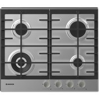 HOOVER HHG6BF4MX Gas Hob - Stainless Steel, Stainless Steel