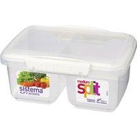 Split Accents 1-litre Food Storage Container