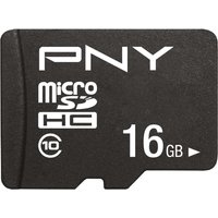 PNY Performance Plus Class 10 microSDHC Memory Card - 16 GB