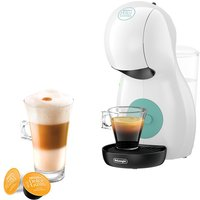 DELONGHI by De'Longhi Piccolo XS EDG210W Coffee Machine - White, White.