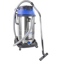 HYUNDAI HYVI10030 Cylinder Wet & Dry Vacuum Cleaner - Silver & Blue, Silver.