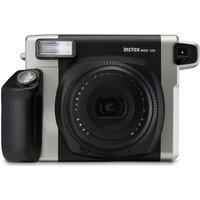 FUJIFILM Instax WIDE 300 Instant Camera - Black & Silver, Black