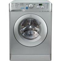 INDESIT Innex XWD71252S Washing Machine - Silver, Silver