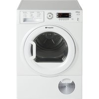 HOTPOINT ULTIMA SUTCD97B6PM Condenser Tumble Dryer - White, White