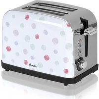 Buy SWAN ST15020POLN 2-Slice Toaster - Polka Dot, Brown - Currys