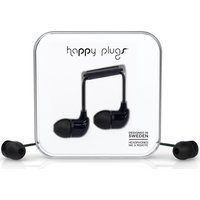 HAPPY PLUGS Headphones - Black, Black