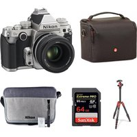 NIKON Df DSLR Camera with 50 mm f/1.8 Lens & Accessories Bundle