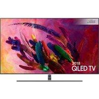 "75""  SAMSUNG QE75Q7FNATXXU Smart 4K Ultra HD HDR QLED TV, Gold sale image"