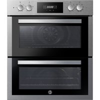 HOOVER H-OVEN 300 HO7DC3E3078IN Electric Built-under Double Oven - Stainless Steel, Stainless Steel